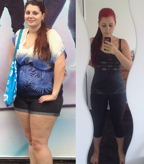 Фотки девушек как они похудели