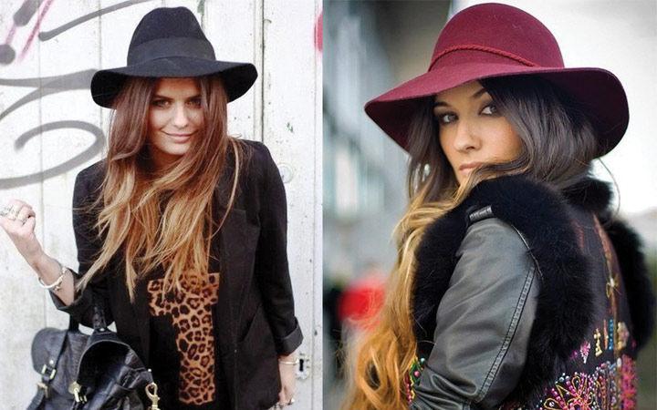 Модные женские шляпки для осени