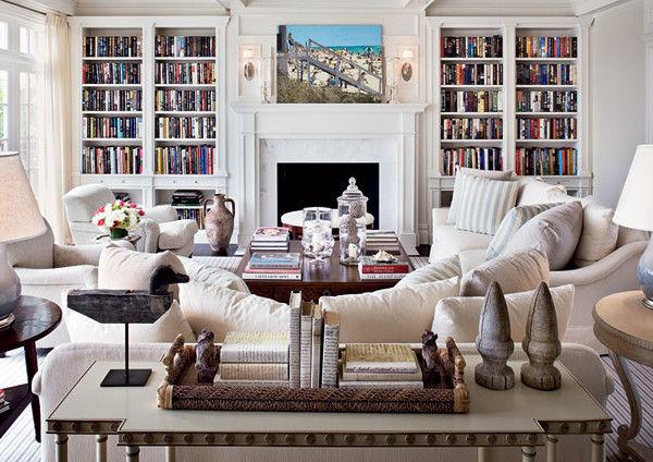 35 Rustic Farmhouse Living Room Design and Decor   Homebnc