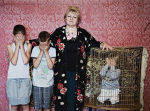 Фотопроект «Оборотная бок материнской любви» ото Анны Радченко