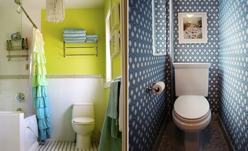 Интерьер туалета своими руками 46