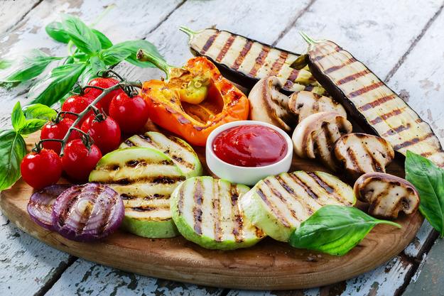 Овощи-гриль по-домашнему рецепт с фото. - Едим Дома