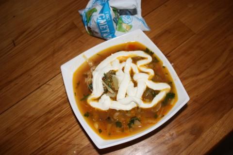 Рецепты кубанский борщ
