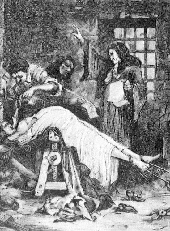 фото пытки инквизиции