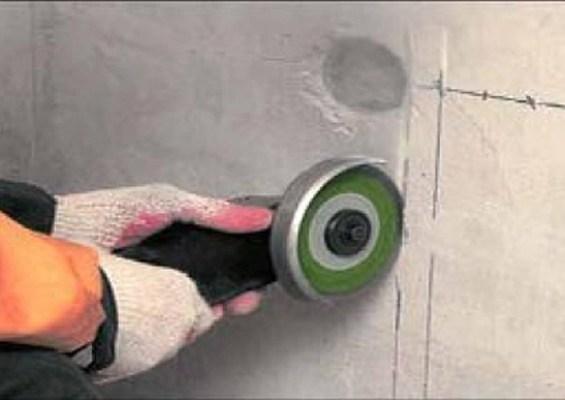 Сделать штроборез по бетону своими руками