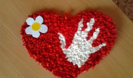 Сердца из салфеток своими руками пошаговое фото
