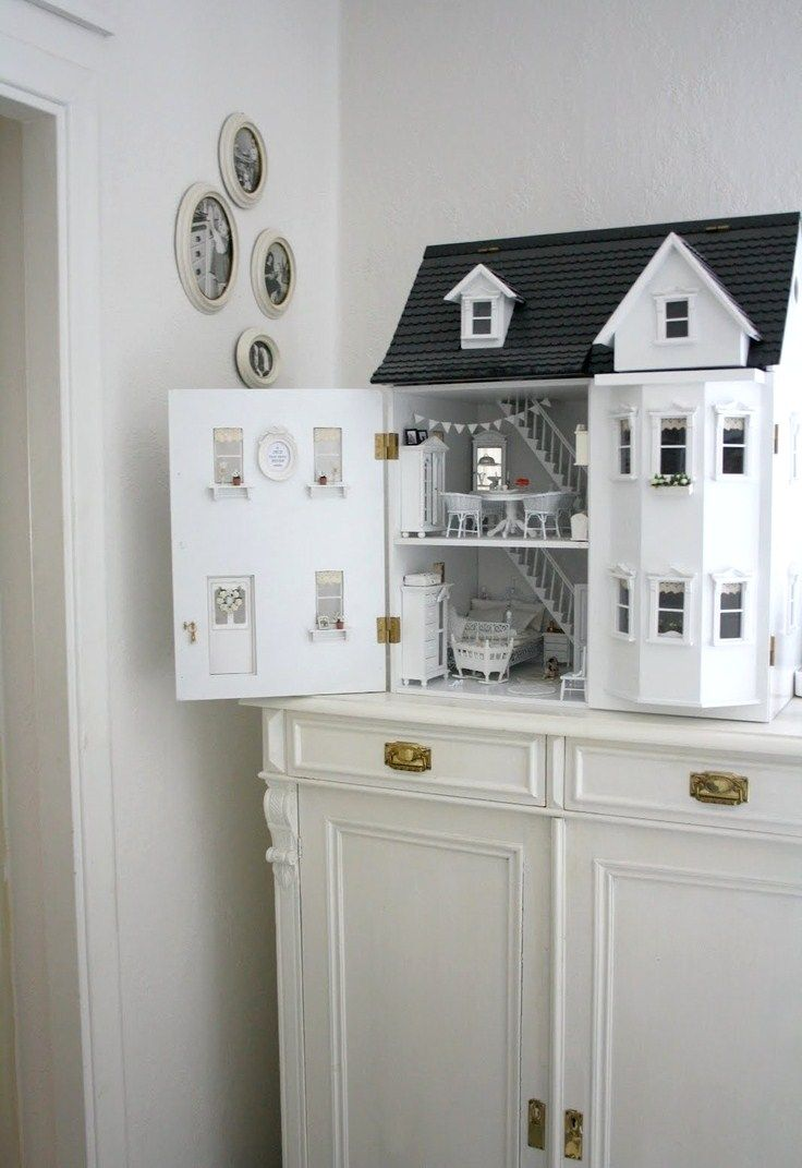 Дом из пенопласта своими руками для куклы фото 65