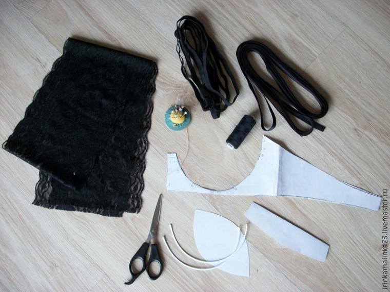 Lingerie: DIY (инструкция, как сшить кружевное бра - Pikabu)