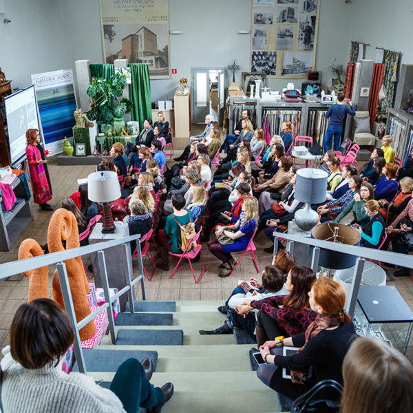 Выставки и лекции дизайн