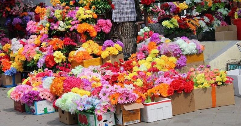 Искусственный цветы своими руками на кладбище