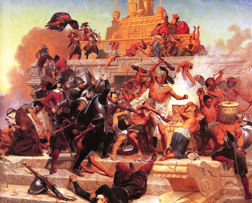 a history of the spanish conquest of tje aztec mexico led by hernan cortes After establishing a colony in mexico, spanish nobleman hernan cortes: fast facts rallied native allies and conquered the aztec empire learn more about what led him to destroy one of the greatest civilizations in human history in this video.