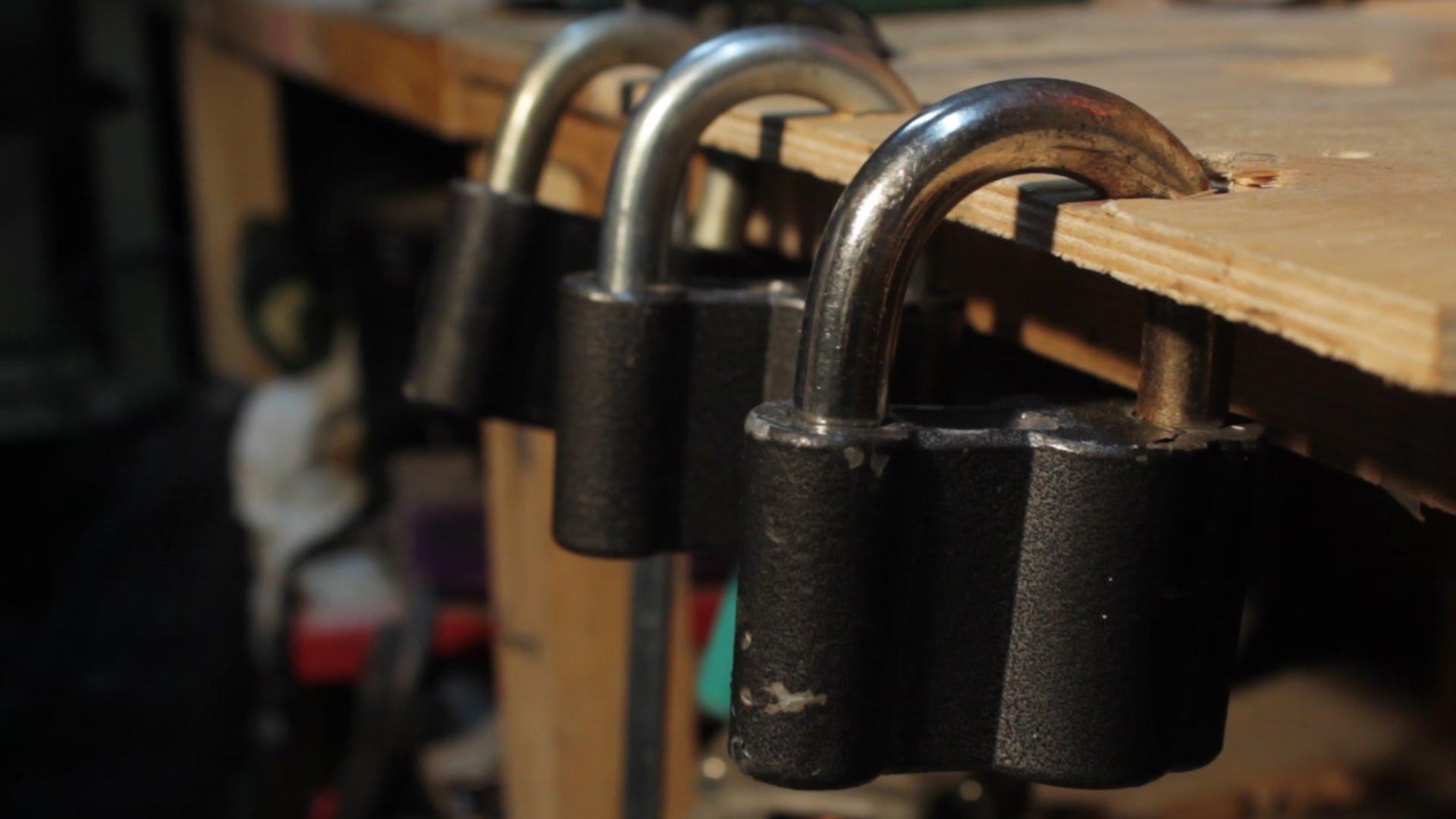 Как сделать замок и ключ в домашних условиях