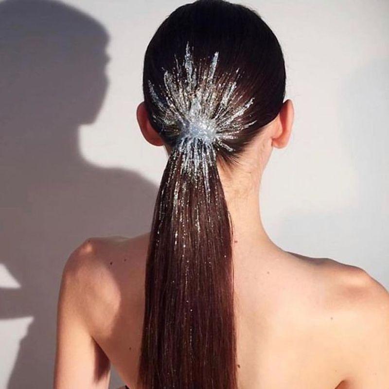 Необычные причёски с хвостом