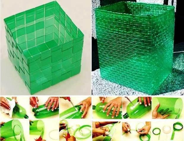 Из пластиковых бутылок своими руками