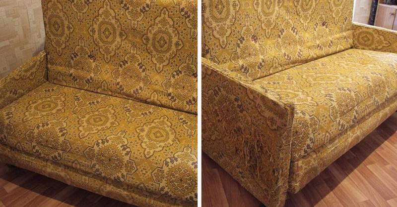 У всех кризис, а у нас красота Преображение советского дивана