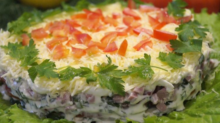 Легкие вкусные салаты рецепты с и быстро