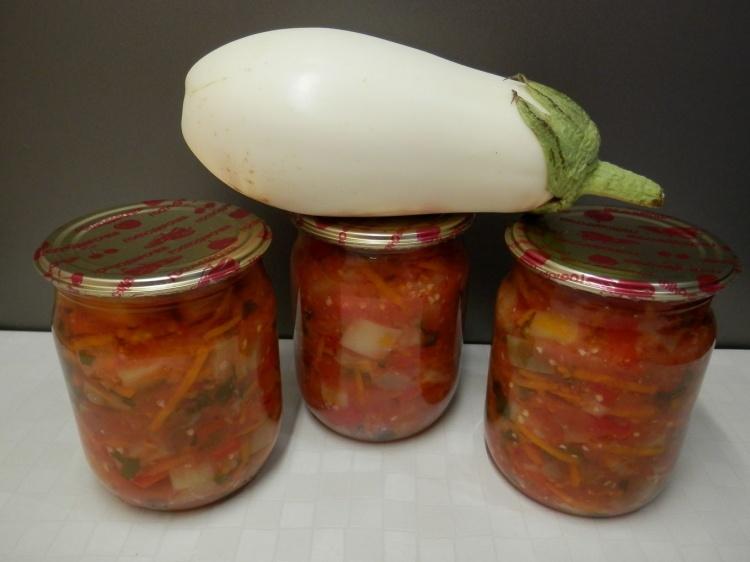 Салат из баклажан бакат рецепт