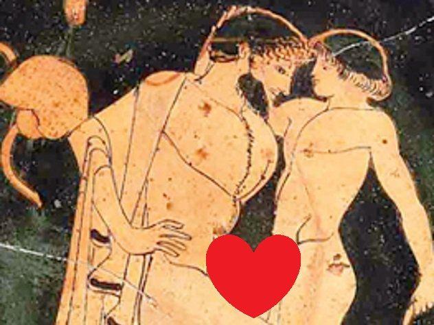 Материалы по гомосексуализму в древней греции
