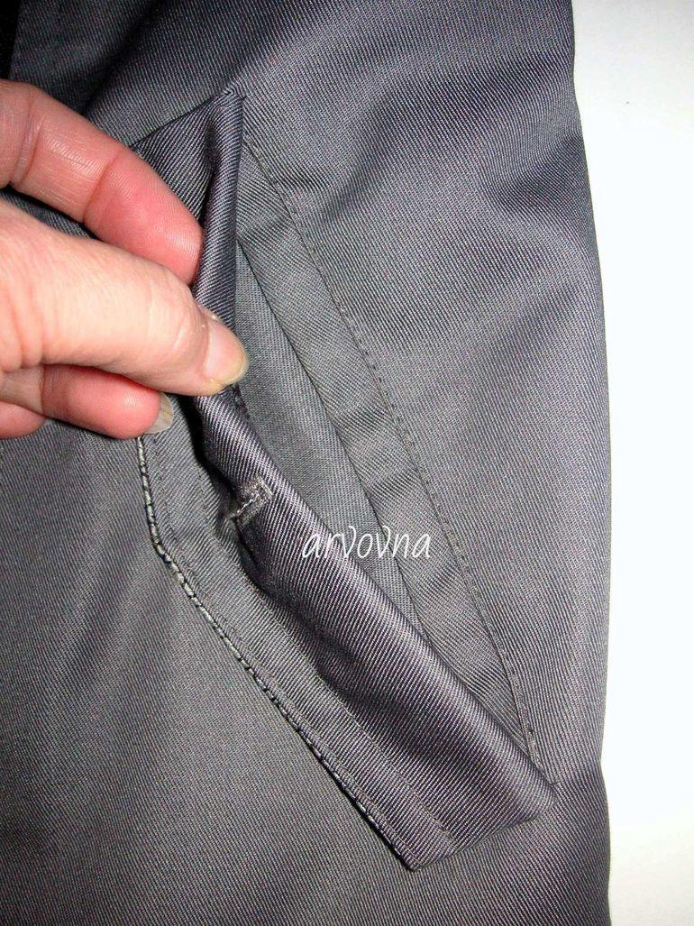 Прорезной карман своими руками фото 308