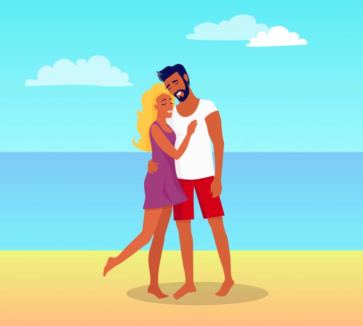Фото муж и жена на море, бабы ищут парней поебаться
