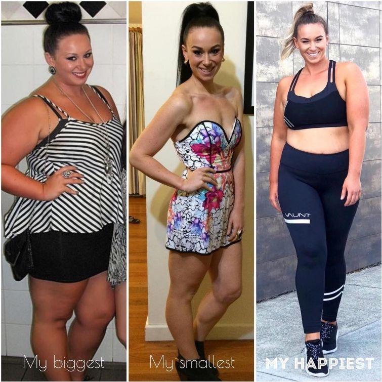 истории похудения на подсчете калорий