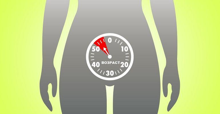 Похудение во время менопаузы 45