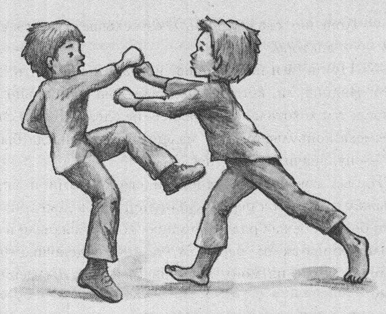 туринской рисунок ссоры друзей калашникова