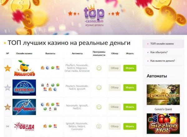 онлайн казино играть на фишки