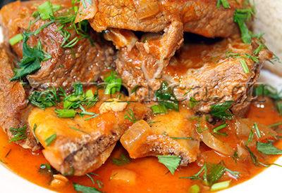 как готовить рёбрышки говяжьи