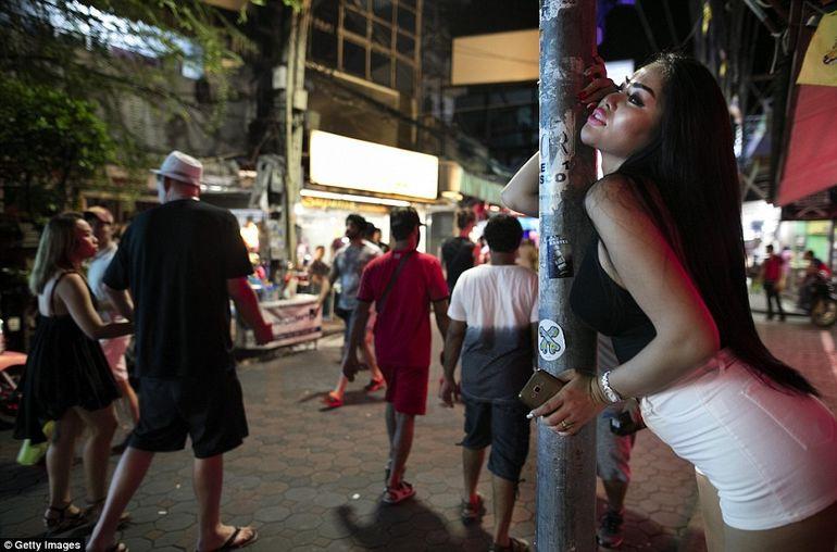 Секс квартал в таиланде