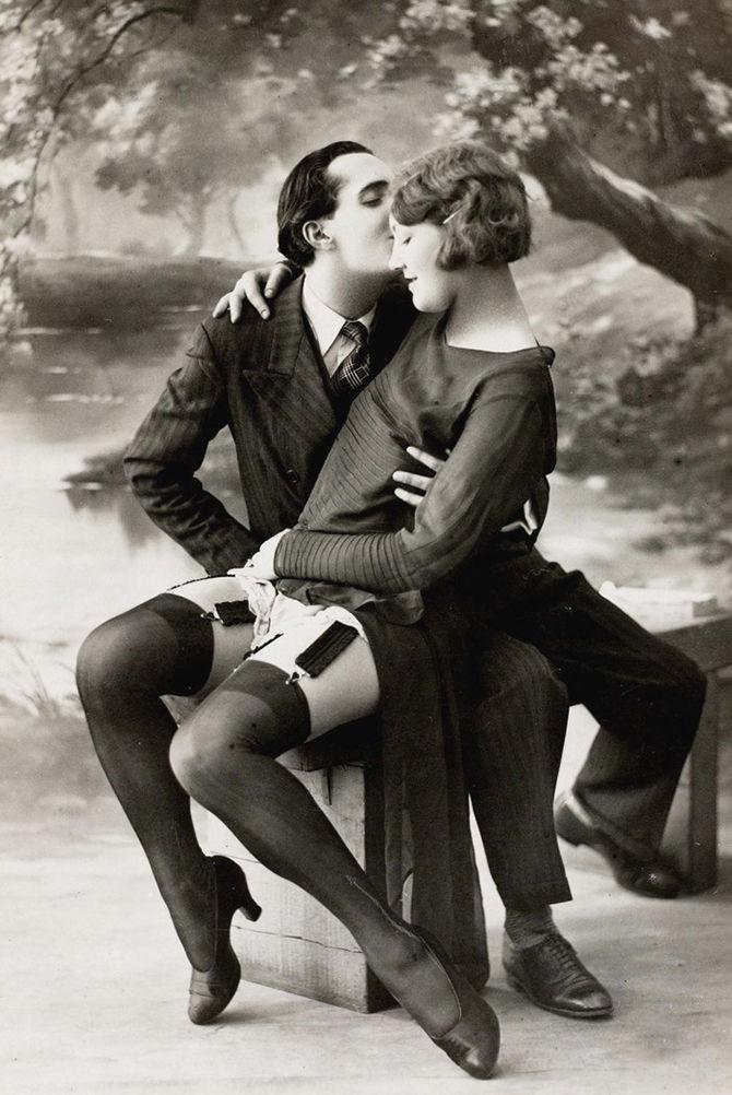 понравилось, старинное черно белое эротическое фото конфликта