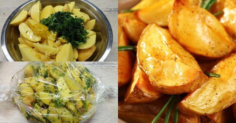 как приготовить картофель на праздничный стол