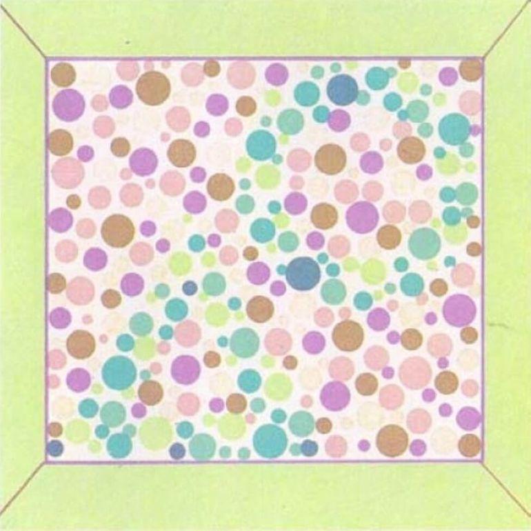 Картинки на проверку зрения на цветовосприятие