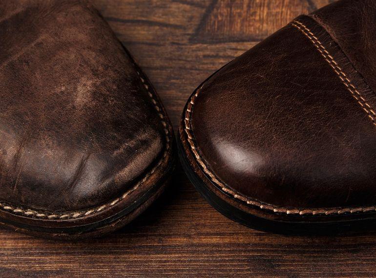 47e988b13 6 способов вернуть кожаной обуви первоначальный вид