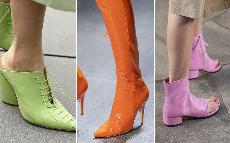 Внедрить броский оттенок в повседневный стиль не составит труда — в  сдержанной классической гамме неоновая обувь станет желанным акцентом 33b26dc3eaeb9