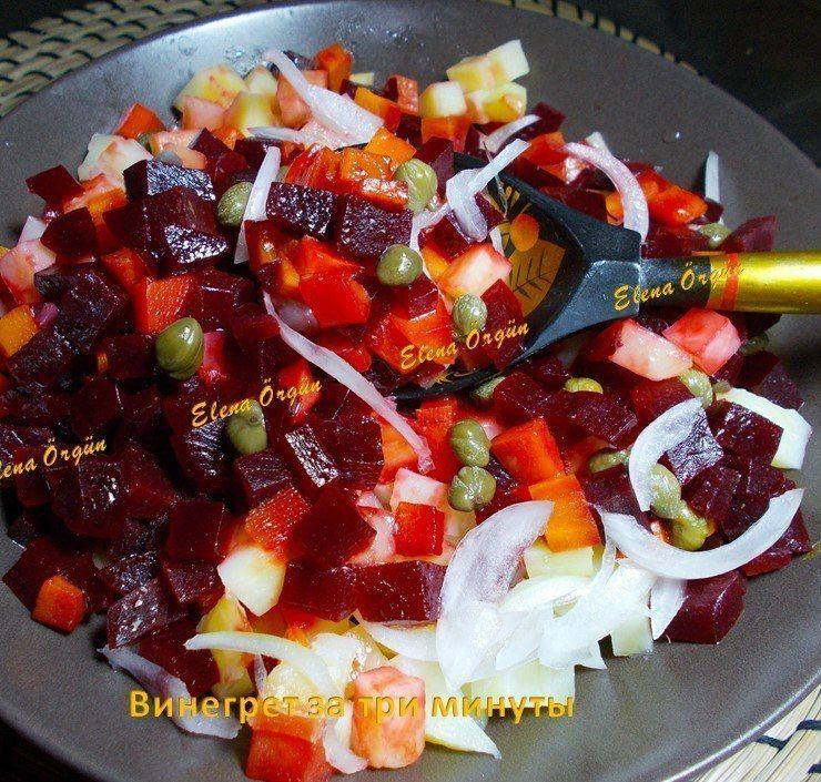 Винегрет варить овощи для винегрета
