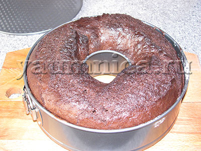Шоколадный кекс с изюмом и корицей - рецепт пошаговый с фото