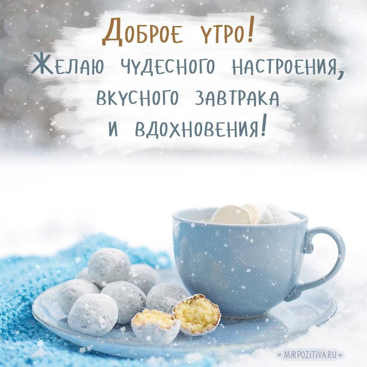 Доброе снежное утро картинки прикольные смешные с надписью