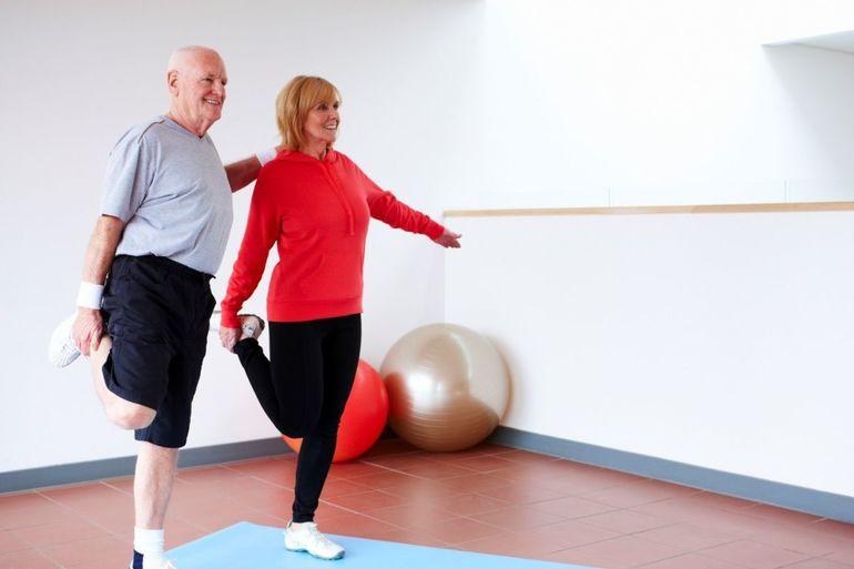 Несложные физические упражнения при диетах