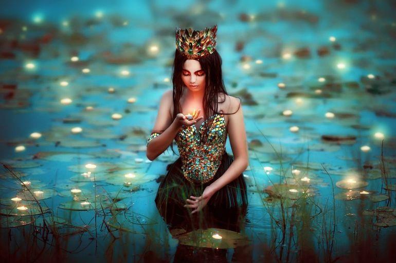 Лесные принцессы и русалки: пермский фотограф снимает ...