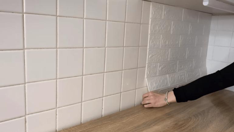 Бюджетное преображение кухонного фартука