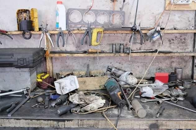 Приспособления для хранения инструментов
