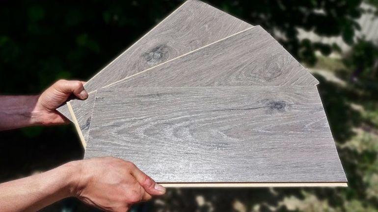 Полезная конструкция для дачи из остатков ламината