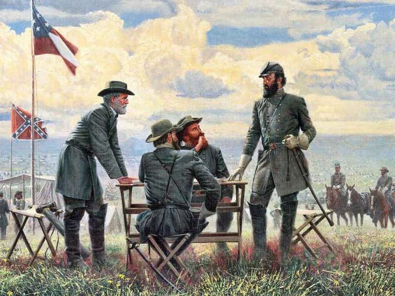 the life and role of general robert e lee in the american civil war Kids learn about the history of the american civil war including causes  civil war life 1865 when general robert e lee surrendered to ulysses s grant at.