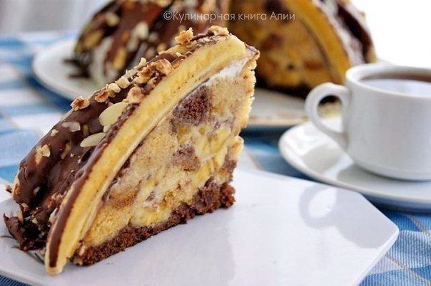 торт панчо рецепт с бананами
