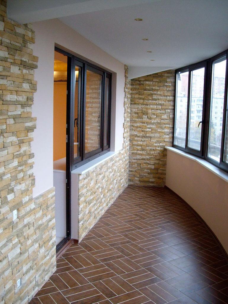 Стройремплан. материалы для отделки лоджии и балкона.
