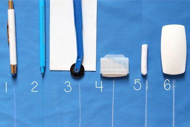 Как сделать портновский мел краска порошок для ткани