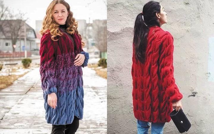 модные кардиганы осень зима 2017 2018 года