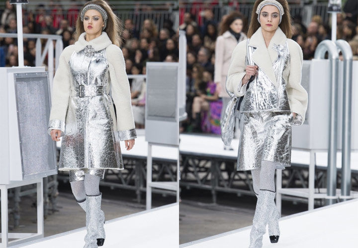 Больше информации о коллекциях бренда, а также видео с космического показа  в Париже вы можете найти в материала, посвященном образам Chanel сезона ... 3e5149a7147