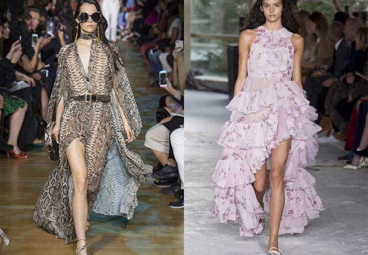 73681b10445 ... какой будет мода на женские платья в сезоне весна-лето 2018 года и  какие новые тренды предлагают модницам известные дизайнеры Европы